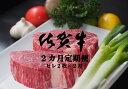 【ふるさと納税】H-011R 佐賀牛ヒレステーキ 2カ月定期...