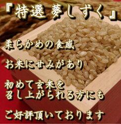 【ふるさと納税】《令和2年産米》有機肥料を使った『夢しずく』玄米5kg(みやき町産)(CI005) 画像2