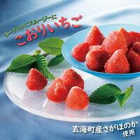 【ふるさと納税】【数量限定!】こおりいちご1kg品種:さがほのか