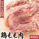 【ふるさと納税】厳選!鶏もも肉 4000g