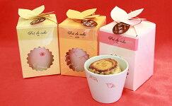【ふるさと納税】人気のお菓子屋さん♪杏慕樹ポドケイク(紅呉須・うつわ付き)