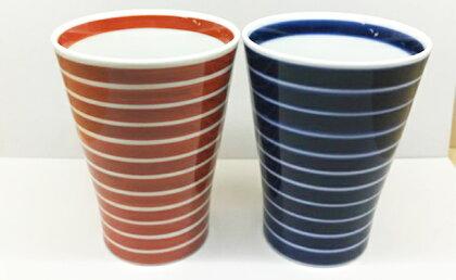 絵変りフリーカップ 2個セット 小島芳栄堂