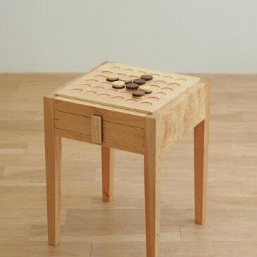 【ふるさと納税】EJ-002 対馬ヒノキのオセロ椅子