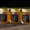 【ふるさと納税】長崎県対馬市 ニホンミツバチのはちみつ 三種食べ比べセット
