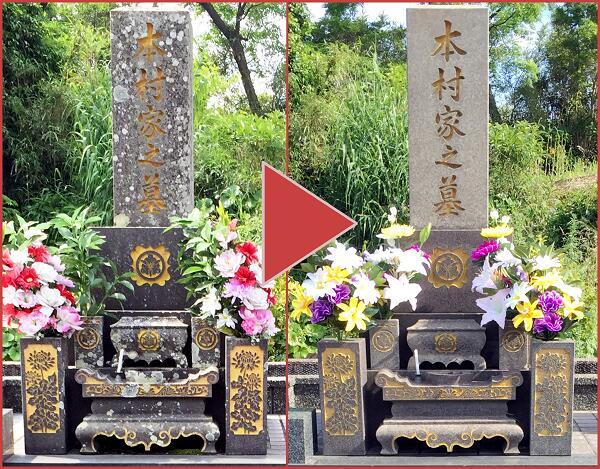 【ふるさと納税】お墓の清掃代行サービス