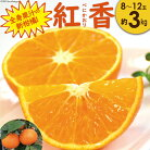 【ふるさと納税】全身果汁の新柑橘紅香(べにかおり)【長崎特産ブランドみかん】