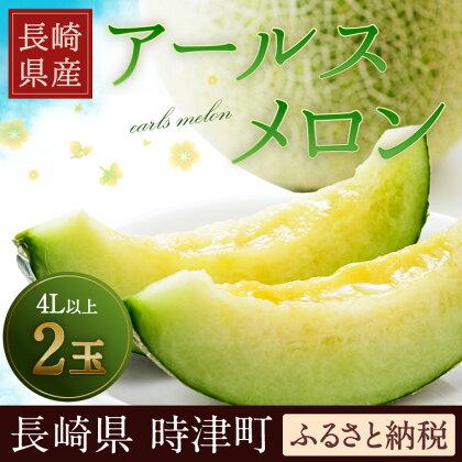 長崎県産 アールスメロン (マスクメロン) 4L