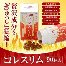 【ふるさと納税】亀山堂コレスリム410mg×90粒送料無料酵母ダイエットサプリメント