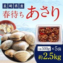 【ふるさと納税】春待ちあさり約3.5kgアサリ