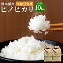 【ふるさと納税】ヒノヒカリ 10kg ひのひかり 精米 お米