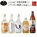 【ふるさと納税】人吉の酒「本格米焼酎」と「デコポン梅酒」の厳...
