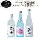 【ふるさと納税】味わい球磨焼酎 フレーバー3種類セット 72...