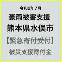 【ふるさと納税】【令和2年 九州(熊本)大雨災害支援緊急寄附受付】熊本県水俣市災害応援寄附金(返礼品はありません)