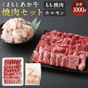 【ふるさと納税】くまもとあか牛 焼肉セット 1000g もも...