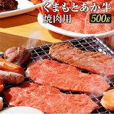 【ふるさと納税】くまもとあか牛焼肉用500g肉お肉にく牛肉焼き肉焼肉やきにくヤキニク焼肉用冷凍送料無料