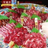 【ふるさと納税】馬刺しの超盛り11種