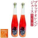 【ふるさと納税】ブラッドオレンジ 100%ジュース 500m...