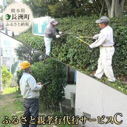 【ふるさと納税】熊本県 長洲町ふるさと親孝行代行サービスC
