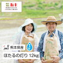 【ふるさと納税】無洗米「ほたるの灯り」 熊本県なごみ町産 1