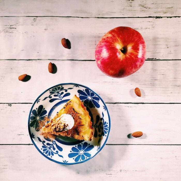 【ふるさと納税】南阿蘇感謝の気持ちを込めてりんごのシブーストタルト(7号・直径22cm)
