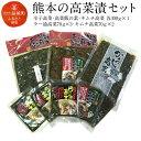 【ふるさと納税】熊本の高菜漬セット 辛子高菜 高菜飯の素 キ...
