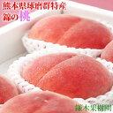 【ふるさと納税】錦の桃(約2kg 6玉〜8玉)  【果物・も...