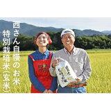【ふるさと納税】【令和2年度産】西さんちの特別栽培米(玄米)森のくまさん 5kg 【お米】 お届け:2020年11月上旬〜2021年10月下旬