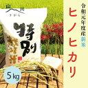 【ふるさと納税】相良村産 新米 特別栽培米 ヒノヒカリ 5k...