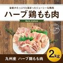 【ふるさと納税】ハーブ鶏もも肉2kgセット 九州産 鶏肉 冷蔵 送料無料