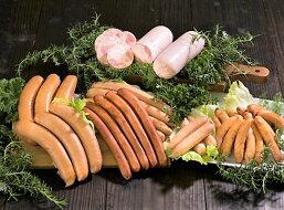 【ふるさと納税】ひと味違う六種の本格派ウインナーを大盛り2.1kg