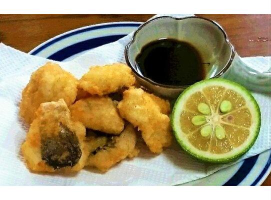 【ふるさと納税】高級魚をご家庭で!豊後ハモの骨切り&唐揚げ用(計1kg)・通