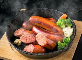 【ふるさと納税】食べ応え満点の3kg!極太粗挽きフランクフルトソーセージ