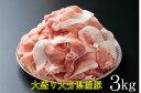 【ふるさと納税】味も量も自信あります!大分県産豚切り落とし3...