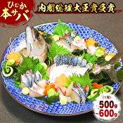 【ふるさと納税】ひむか本サバ1尾(えら・内臓除去済み)500〜600g(A131)