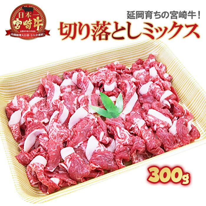 【ふるさと納税】延岡育ちの宮崎牛 旨み満載ミックス切り落とし