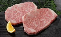 【ふるさと納税】【厳選霜降り肉】宮崎牛特上厚切りロースステーキペア