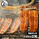 【ふるさと納税】炭火焼一筋127年「うなぎの入船」かば焼2尾(熟成たれ付)