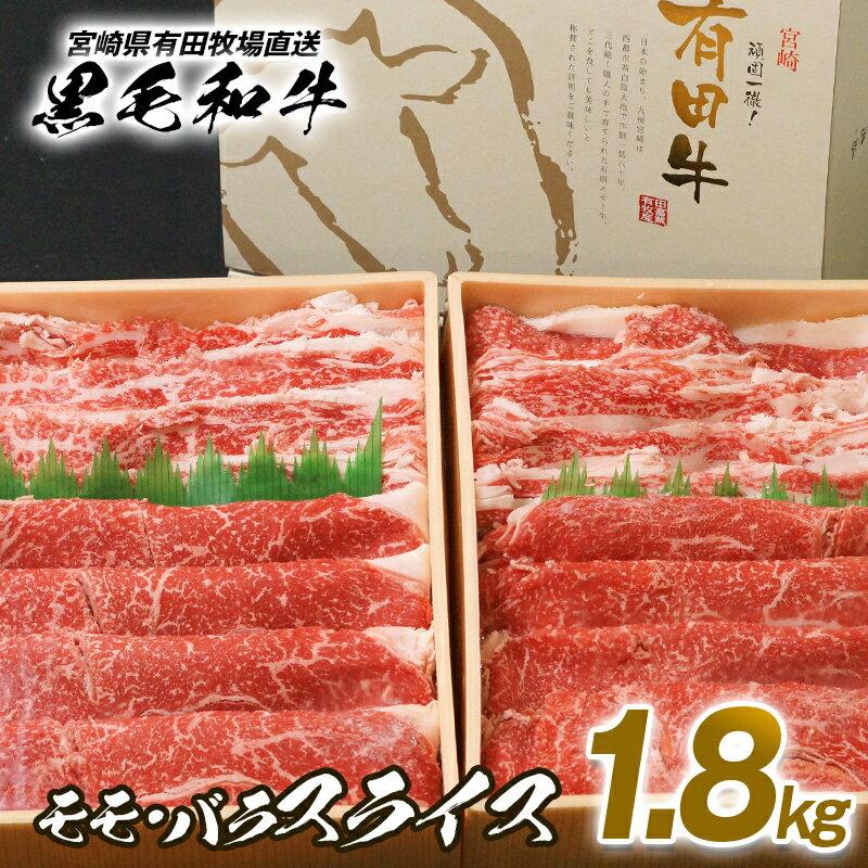宮崎県有田牧場黒毛和牛モモ・バラスライス