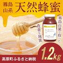 【ふるさと納税】霧島山系天然蜂蜜送料無料国産はちみつ蜂蜜地蜜天然料理霧島山麓