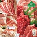 【ふるさと納税】「綾ぶどう豚」「宮崎牛」「宮崎産若鶏」焼肉セット+にんにく塩 1