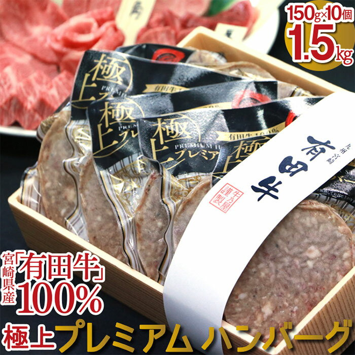有田牛 牛乃屋謹製ハンバーグ 10個 1.5kg