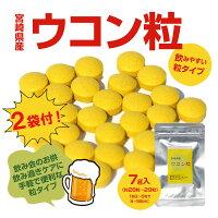 宮崎名物鶏の炭火焼100g×20袋セット+宮崎県産ウコン粒2袋付