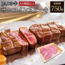 【ふるさと納税】JAこゆ牛高級(A4等級以上)サーロインステーキ3枚牛肉宮崎県新富町