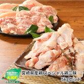 宮崎県産鶏スペシャル鶏三昧5kgセット