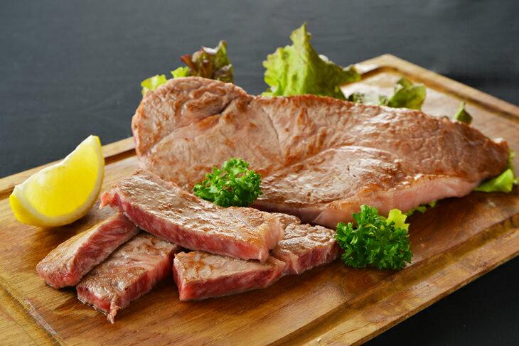 【ふるさと納税】宮崎牛ロースステーキ&焼肉セット(合計900g)