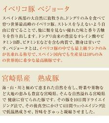 【ふるさと納税】宮崎県産熟成豚とイベリコ豚のハンバーグ120g×10個 画像2