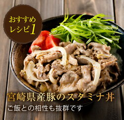 【ふるさと納税】数量限定【訳あり】宮崎県産豚小間切れ肉(計4kg) 画像2