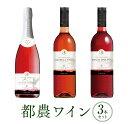 【ふるさと納税】都農ワイン3本セット(キャンベル・アーリー、マスカット...