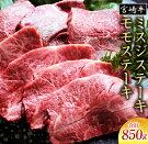 【ふるさと納税】宮崎牛ミスジステーキとモモステーキ(合計850g)