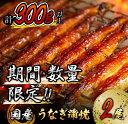 【ふるさと納税】《期間・数量限定》うなぎ蒲焼2尾(計300g以上)国産鰻(ウナギ・さんしょう・たれセット)